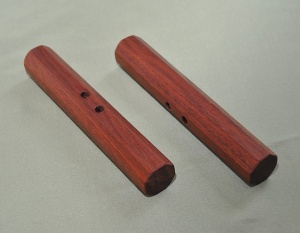 Bloodwood 6 x 7/8 inches includes black cord $35