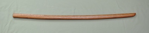Hand Carved Bokken Various woods, laminated $185