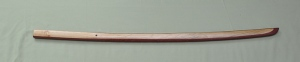 Hand Carved Bokken Various woods, laminated $165